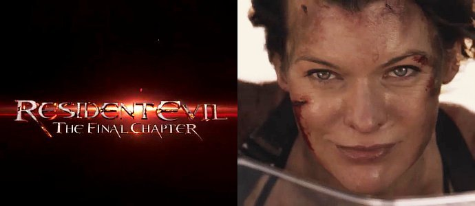 Resident Evil The Final Chapter (2016) English 720p 900Mb