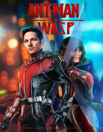 Ant-Man and the Wasp 2018 Dual Audio HDCAM 650MB